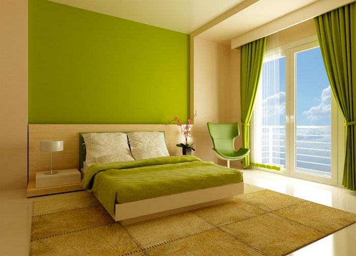 Какой же цвет стен в спальне будет лучше для нас?