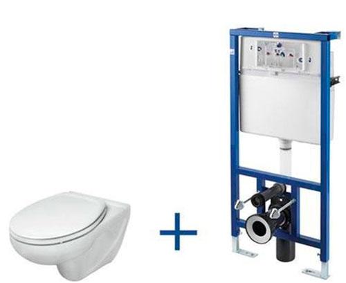 Подвесной унитаз - простая установка и ремонт, прочность конструкции