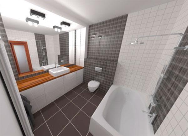 Дизайн совмещенной ванной комнаты 4 кв. м