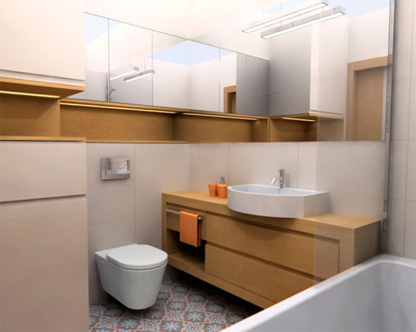 Дизайн ванной комнаты 4 кв м с