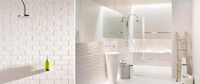 применением 3d плитки в ванную