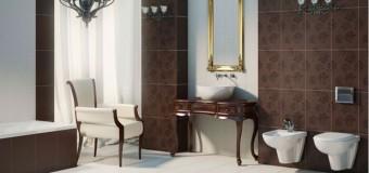 Ванные комнаты в классическом стиле, мебель в ванную в классике
