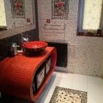 Декоративная плитка в ванную комнату