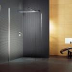 Ванная комната – серая плитка в главной роли