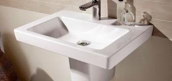 На какой высоте вешать раковину в ванной, высота инсталляции для унитаза