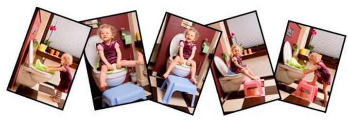 подставка для ребенка под раковину или унитаз