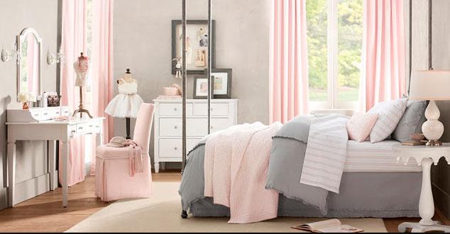 Розовый и серый в дизайне