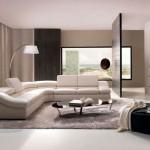 Современный угловой диван в гостиную