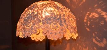 Как сделать абажур для настольной лампы, торшера, люстры своими руками, фото