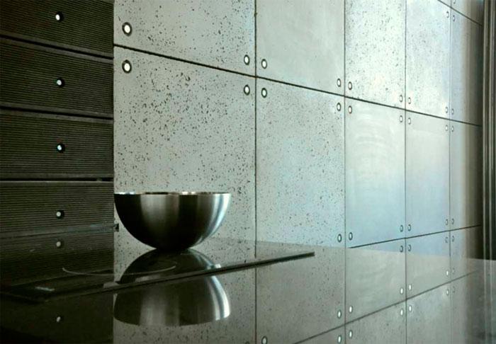 Характеристики декоративных панелей под бетон