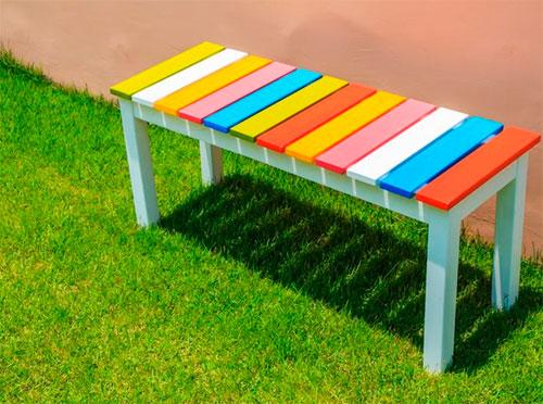 Как сделать простую скамейку своими руками