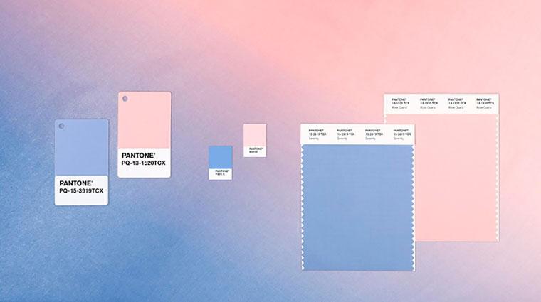 Новые цвета в интерьере 2016 – голубые и розовые пастели