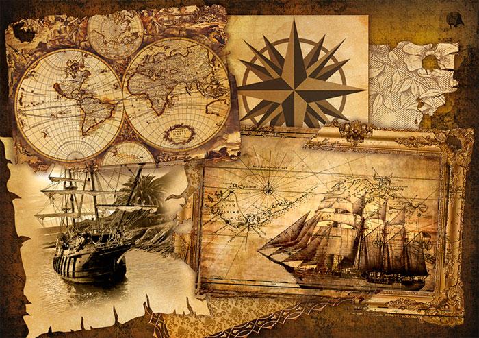 Фотообои в пиратском стиле