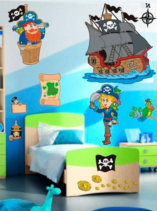 Пиратская детская мебель