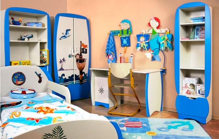 Пиратская атрибутика в детскую комнату