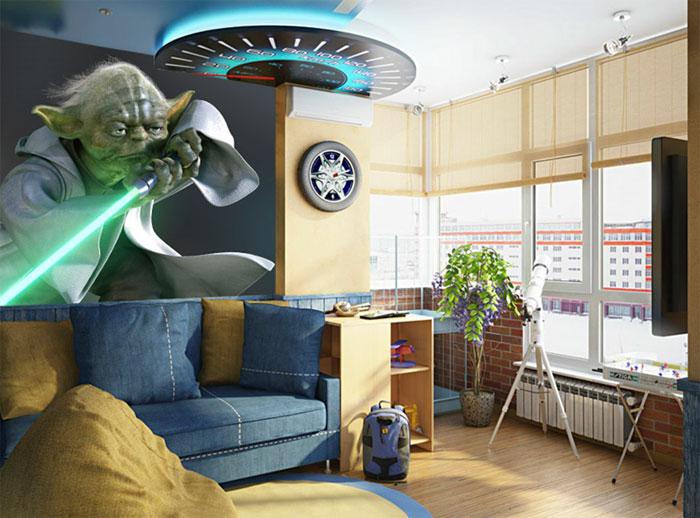 Комната в стиле звездных войн – выбираем мебель