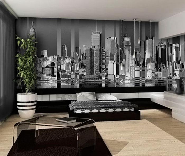 фотообои нью йорк в интерьере фото