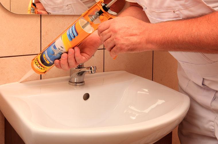 Акриловые герметики и герметик силиконовый для швов – применение