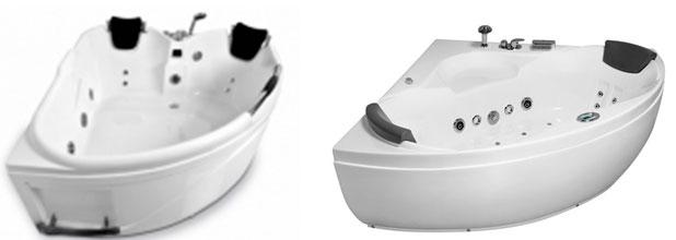 Гидромассажные ванны и их форма