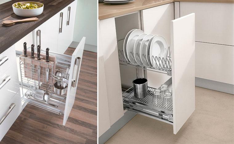 Шкаф карго для кухни – преимущества
