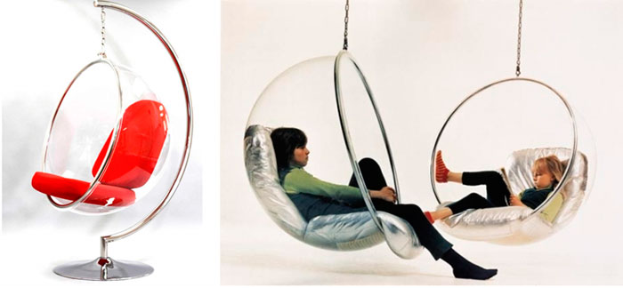 Кресло-яйцо на службе релаксации