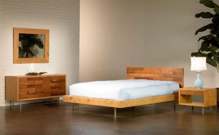 Как сделать кровать в спальню своими руками