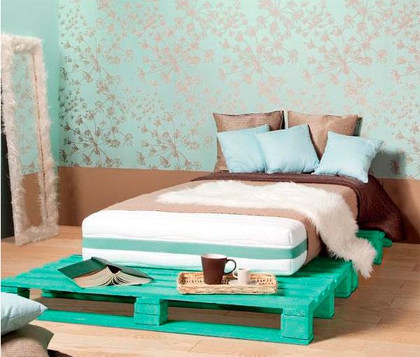 Изготовление кроватей своими руками из европоддонов