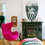 Кресло яйцо в интерьере