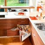 Кухонные ящики в кухонном гарнитуре – виды и размеры