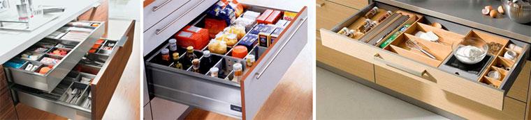 Преимущества использования ящиков в мебели для кухни