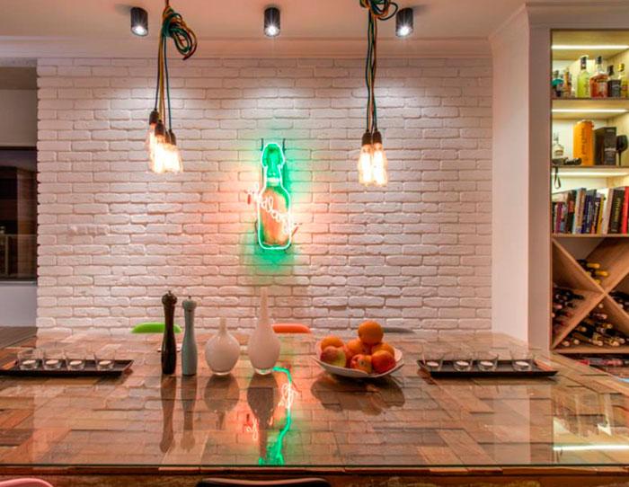 Ретро-лампа Эдисона – варианты использования в интерьере