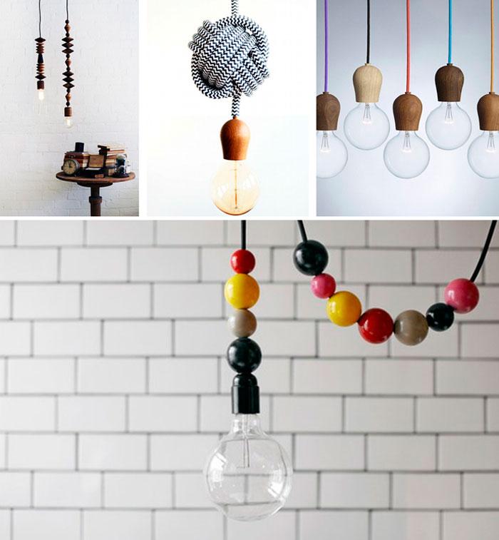Декоративные шнуры для лампочек Эдисона