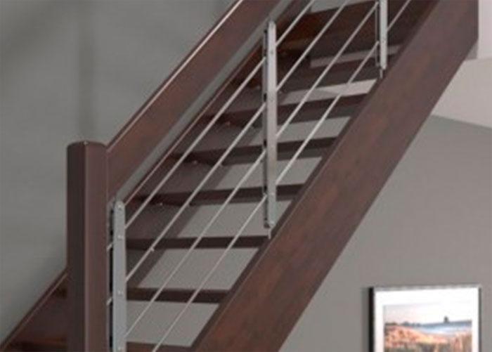 Современные перила для лестниц