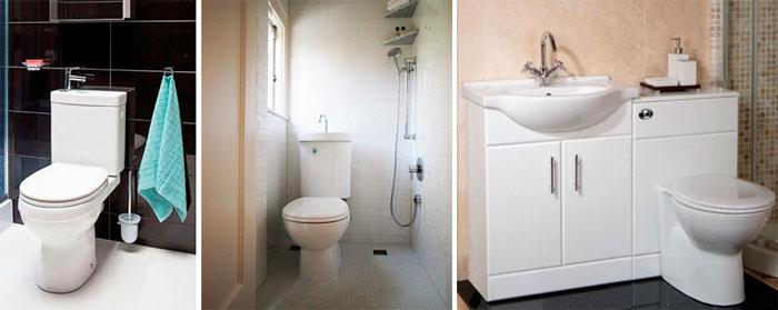 Интересные решения для маленьких ванных комнат