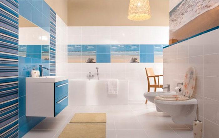 Какая плитка для ванной сейчас в моде?