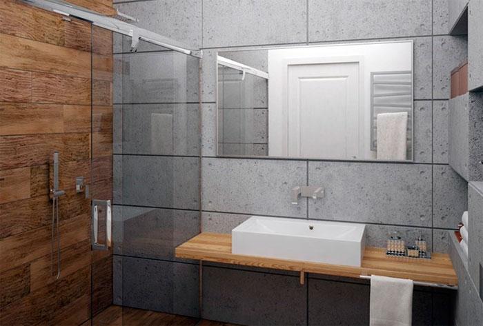 Современная ванная комната 2016