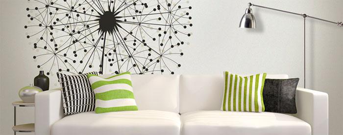 Обои в современной квартире – варианты дизайна