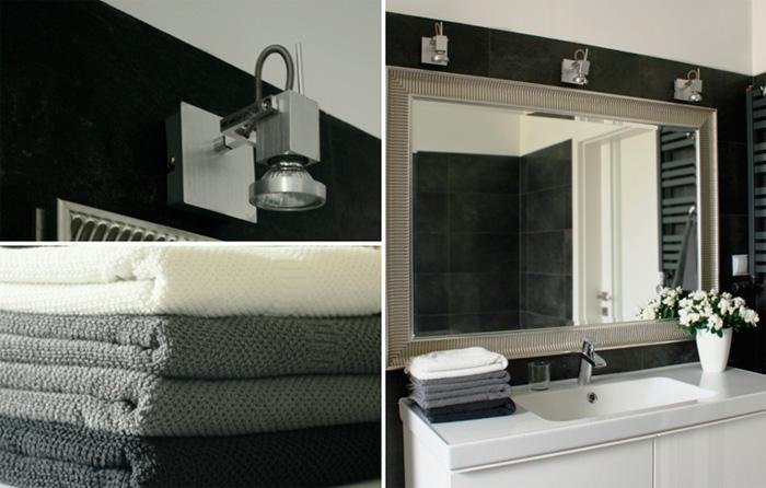 Светильник в ванную комнату над зеркалом