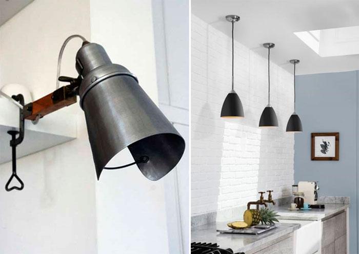 Классическое освещение в скандинавском стиле