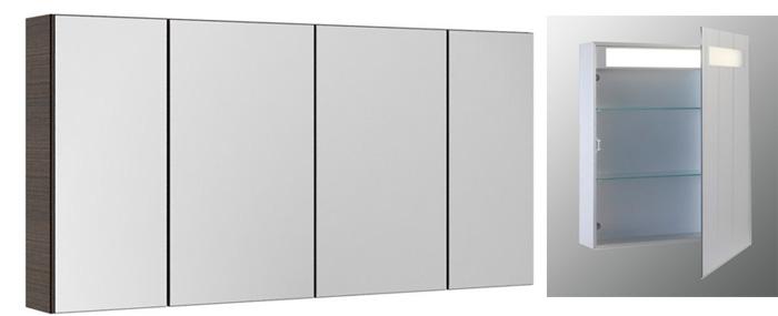Наборы мебели со встроенным зеркалом