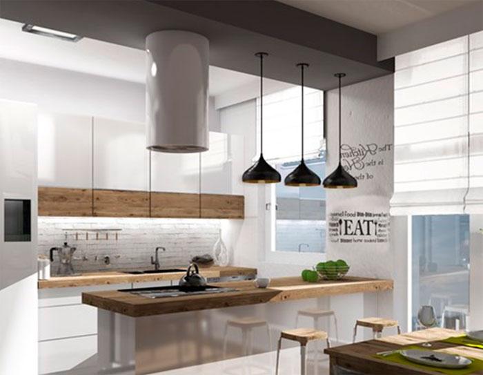 Скандинавские люстры на кухню