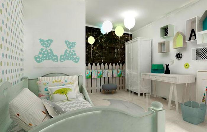 Освещение в детскую комнату