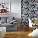Обои в современном дизайне гостиной – модные цвета и мотивы
