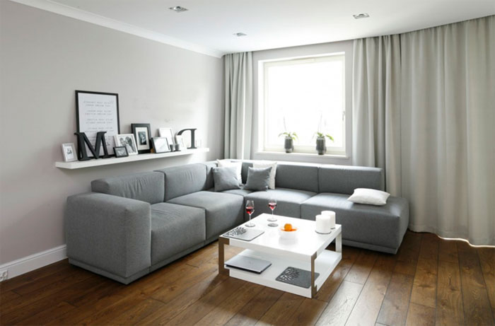 How to put a sofa - interesting ideas and photos