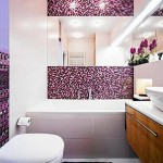 Стеклянная плитка мозаика для ванной