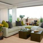 Угловой диван для гостиной со спальным местом