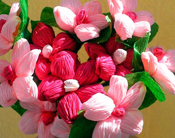 букет цветов своими руками