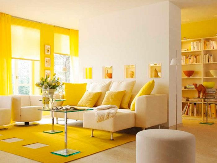 Как влияет желтый цвет на человека