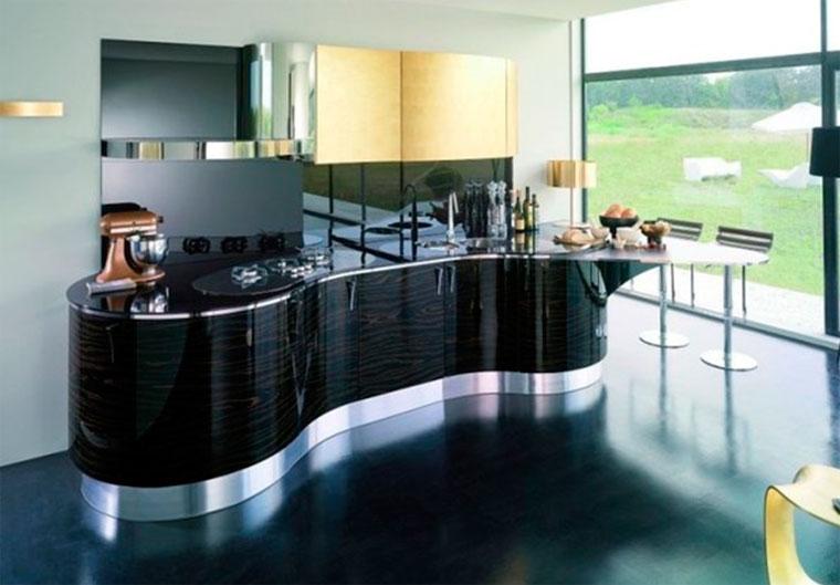 Преимущества кухонной мебели с глянцевыми фасадами