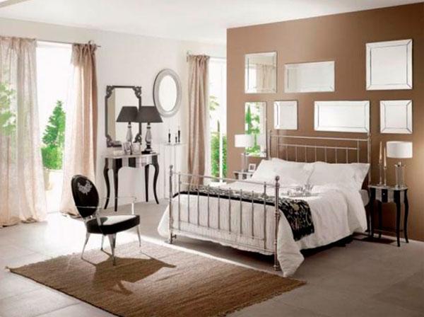 Спальня в стиле фьюжн – фото